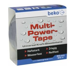 Beko Multi-Power-Tape 50 mm x 25 m, silber 262 205 251