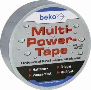 Beko Multi-Power-Tape 50 mm x 50 m, silber