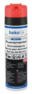 Beko TecLine Fluormarker Schreibspray 500 ml, leuchtorange