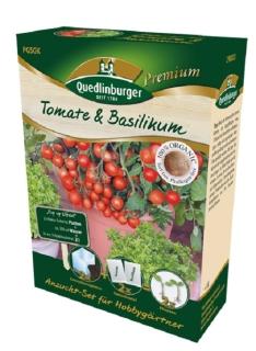 Quedlinburger Saatgut Tomate & Basilikum Anzucht-Set 298002