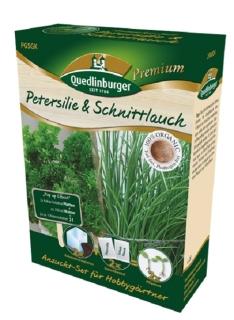 Quedlinburger Saatgut Petersilie & Schnittlauch Anzucht-Set 298004
