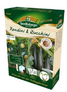 Quedlinburger Saatgut Rondini & Zucchini Anzucht-Set 298007