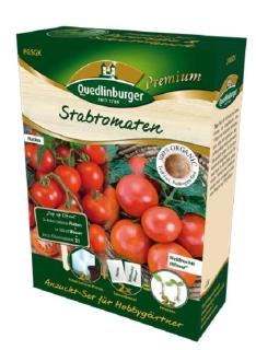 Quedlinburger Saatgut Stabtomate Matina Hil Anzucht-Set 298008