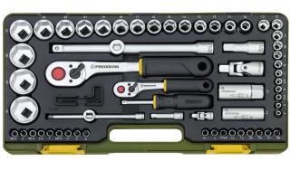 Steckschlüsselsatz mit Knüppelratschen 1