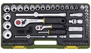 Steckschlüsselsatz für zöllige Schrauben