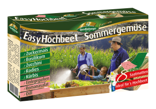 Quedlinburger Saatgut Easy Hochbeet Sommergemüse 8 in 1 2943150