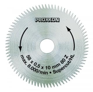 Kreissägeblatt  Super-Cut, 58 mm