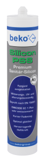 Beko PSS Premium-Sanitär-Silicon 310 ml , lichtgrau