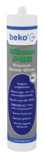 Beko PSS Premium-Sanitär-Silicon 310 ml , silbergrau